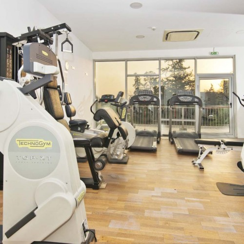 Gym at Classic Hotel